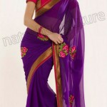 Natasha Couture Winter Sarees Collection 2013 For Women 0011