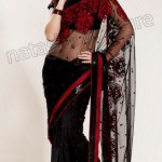 Natasha Couture Winter Sarees Collection 2013 For Women 0013