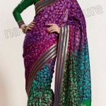 Natasha Couture Winter Sarees Collection 2013 For Women 0017