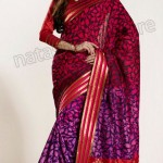 Natasha Couture Winter Sarees Collection 2013 For Women 0026