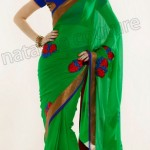 Natasha Couture Winter Sarees Collection 2013 For Women 0032