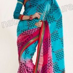 Natasha Couture Winter Sarees Collection 2013 For Women 0034