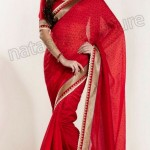 Natasha Couture Winter Sarees Collection 2013 For Women 004