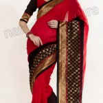 Natasha Couture Winter Sarees Collection 2013 For Women 0040