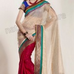 Natasha Couture Winter Sarees Collection 2013 For Women 0041