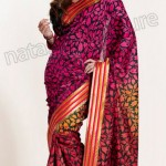 Natasha Couture Winter Sarees Collection 2013 For Women 0042