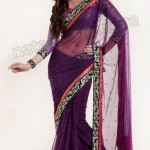 Natasha Couture Winter Sarees Collection 2013 For Women 005