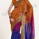 Natasha Couture Winter Sarees Collection 2013 For Women 007