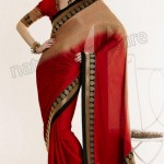Natasha Couture Winter Sarees Collection 2013 For Women 008