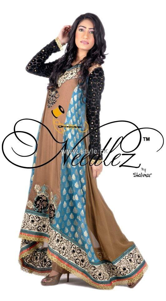 Needlez by Shalimar New Party Wear Collection 2013