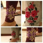 Pareesa Embroidered Tights Winter Collection 2013 For Women 001