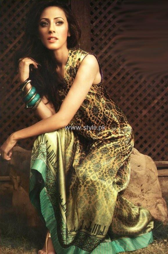 Sania Maskatiya Evening Wear Collection 2013 for Women