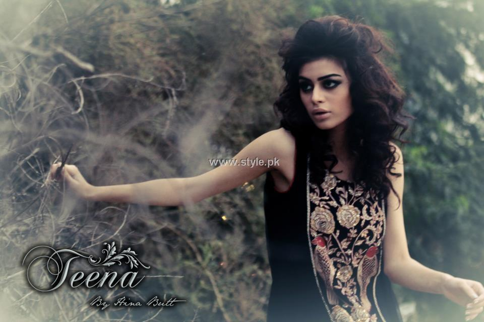 Teena by Hina Butt Winter Formals 2013 for Ladies