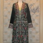 Threads and Motifs New Embroidered Dresses 2013 for Ladies 002