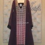Threads and Motifs New Embroidered Dresses 2013 for Ladies 005