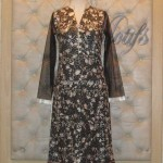 Threads and Motifs New Embroidered Dresses 2013 for Ladies 012