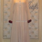 Threads and Motifs New Embroidered Dresses 2013 for Ladies 014