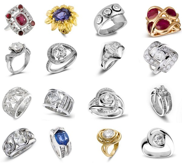 few pictures of women rings designs 2013