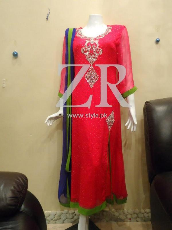 Zayn Rashid Party Wear Dresses 2013 for Women