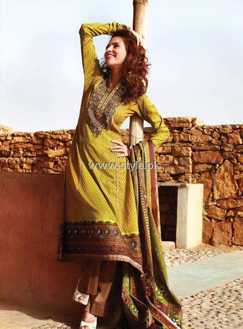 Al Karam Spring Summer Lawn Collection 2013 for Women 001 pakistani dresses fashion brands