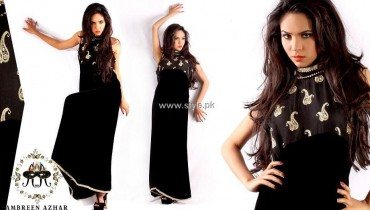 Ambreen Azhar Party Wear Dresses 2013 for Girls