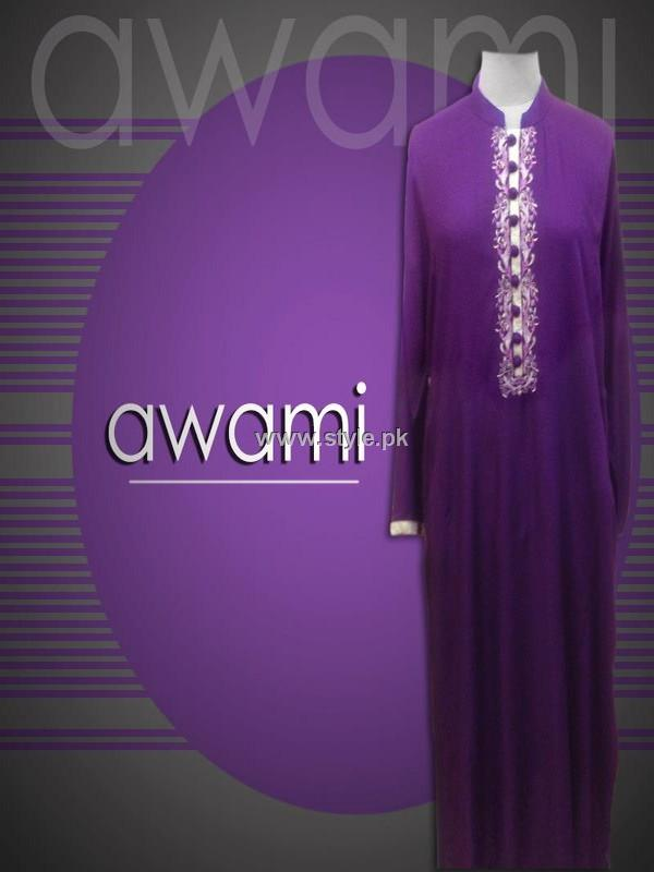 Awami Casual Wear Collection 2013 for Women by Amir Adnan 009 pakistani dresses