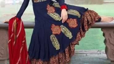 Brides Galleria Anarkali Frocks Collection 2013 For Women 003