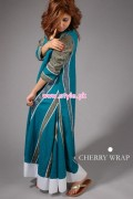 Cherry Wrap Spring Dresses 2013 For Girls 015