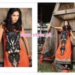 House Of Zunn Latest Lawn Collection For Women 2013 010