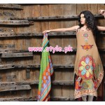 House Of Zunn Lawn Collection 2013 For Summer 013