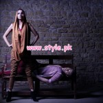 Ishtiaq Afzal Khan & DnF Summer Party Dresses 2013 002