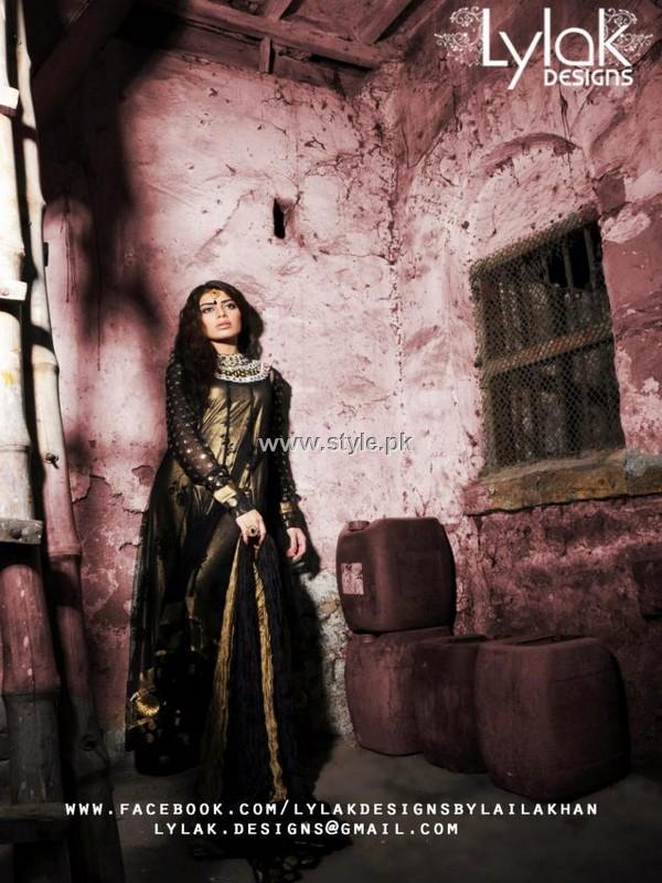 Lylak Designs Party Wear Collection 2013 for Women
