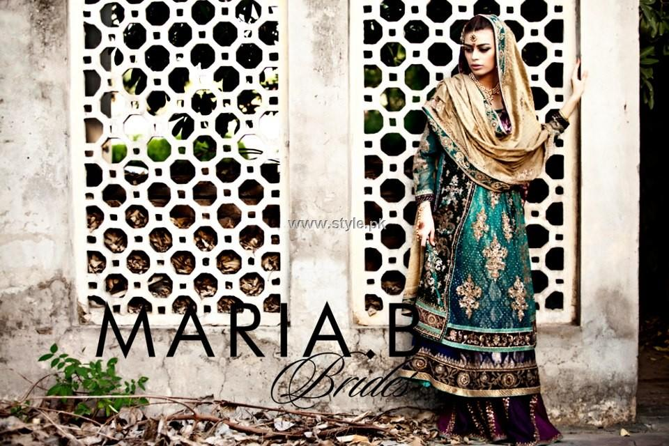 Maria B Bridal Wear Dresses 2013 For Women 001