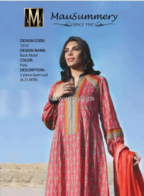 Mausummery Lawn Collection 2013 for Women 001 dress designs