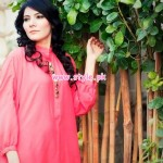 Minahil & Eleaza Latest Party Wear Clothes 2013 001