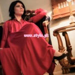 Minahil and Eleaza Women Clothes 2013 For Spring 005