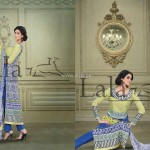 Sana & Samia Celebre Lawn Collection 2013 by Lala 001