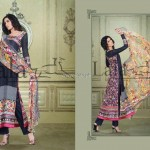 Sana & Samia Celebre Lawn Collection 2013 by Lala 002