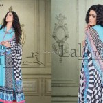 Sana & Samia Celebre Lawn Collection 2013 by Lala 004