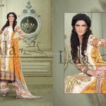 Sana & Samia Celebre Lawn Collection 2013 by Lala 005