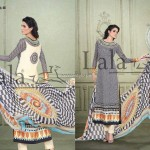 Sana & Samia Celebre Lawn Collection 2013 by Lala 006