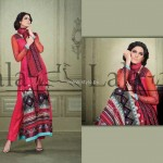 Sana & Samia Celebre Lawn Collection 2013 by Lala 009