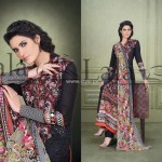 Sana & Samia Celebre Lawn Collection 2013 by Lala 010