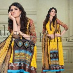 Sana & Samia Celebre Lawn Collection 2013 by Lala 011