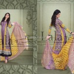 Sana & Samia Celebre Lawn Collection 2013 by Lala 012