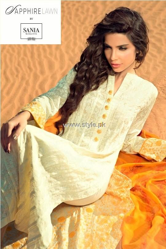 Sapphire Lawn by Sania Maskatiya 2013 for Women