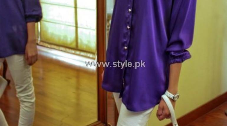 Tassy Zarar's Silk Satin Collection 2013 for Girls