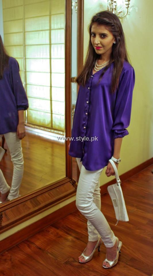 Tassy Zarar's  Silk Satin Collection 2013 for Girls