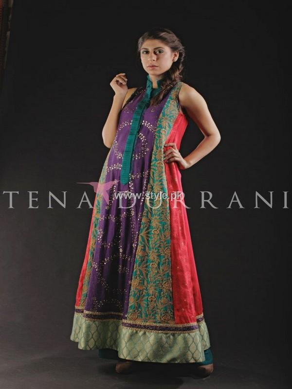 Tena Durrani Party Wear Dresses 2013 for Women 003 pakistani dresses