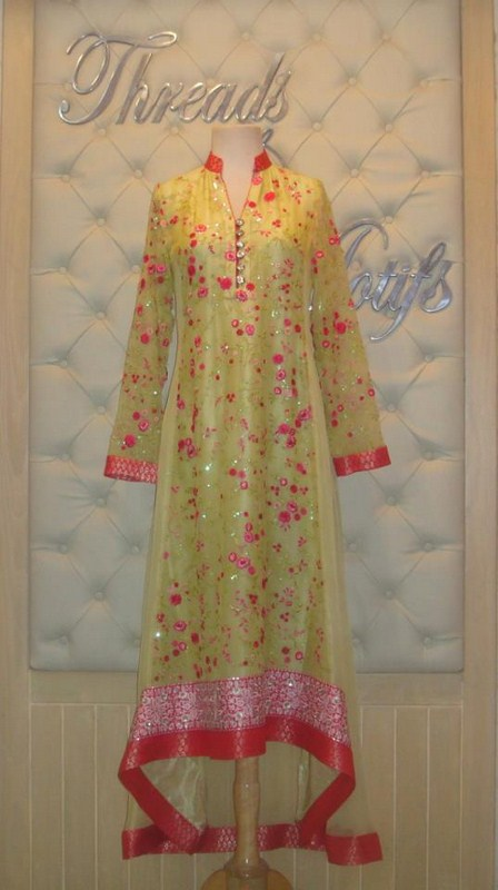 Threads And Motifs Spring Collection 2013 For Women 002 pakistani dresses